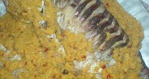 Риба в ікровому соусі