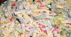 Крабовий салат з сиром